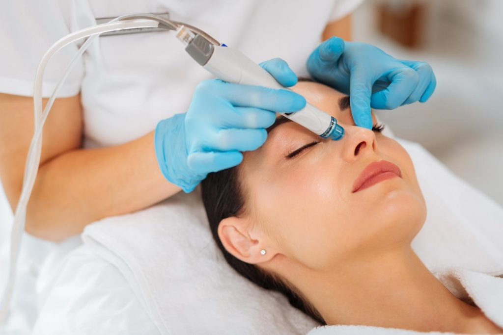soin du visage hydrafacial