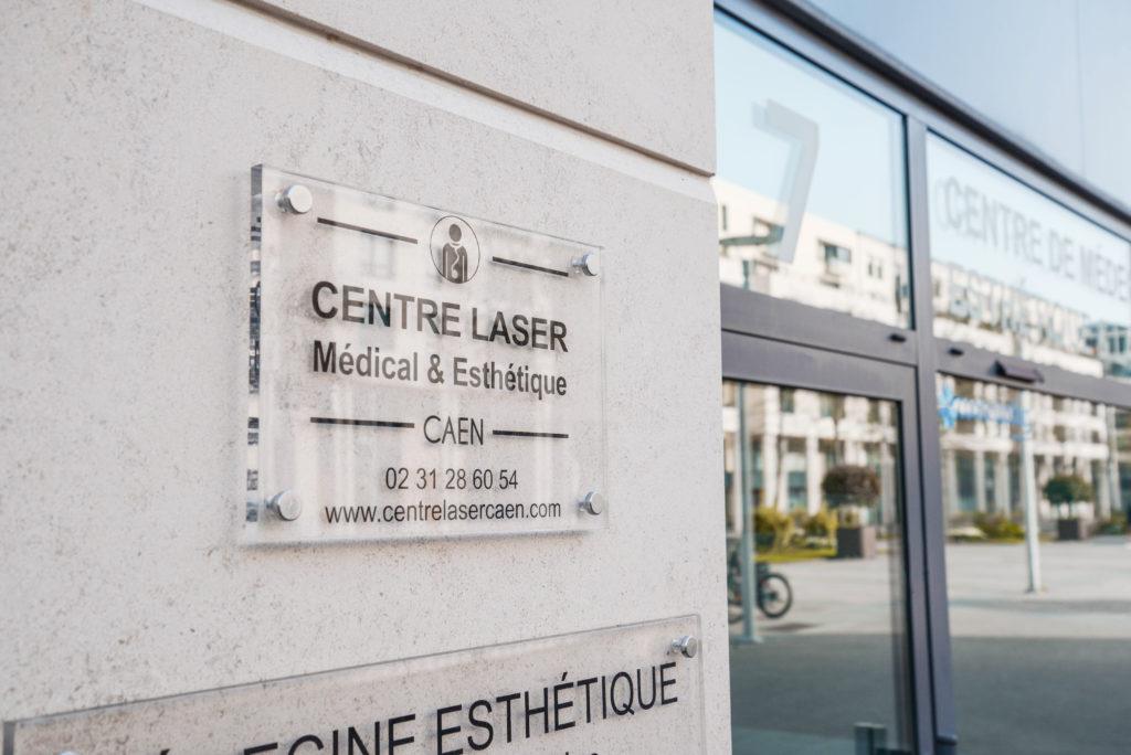 photo centre laser extérieur