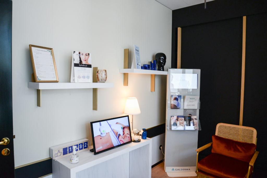 accueil centre laser médical esthétique caen